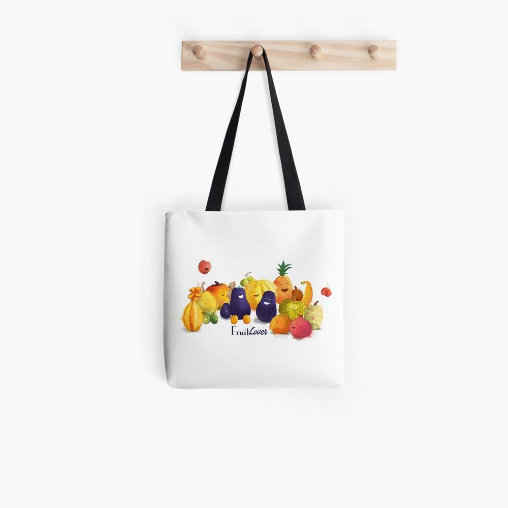 Tote bag «fruits tropicaux»