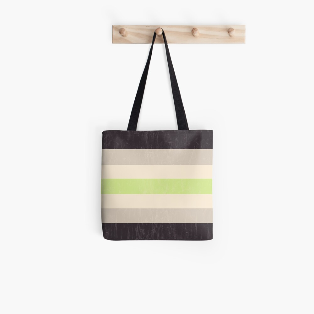 Agender Flag Tote Bag