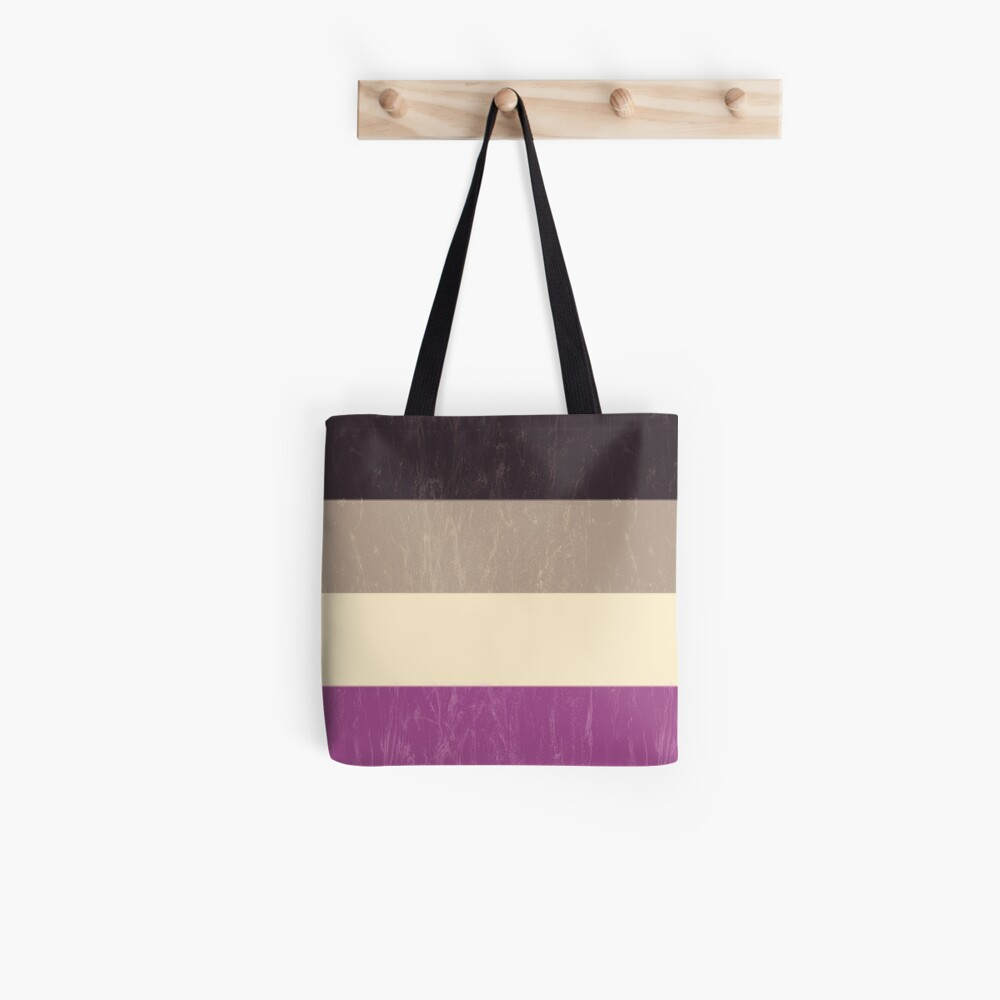 Asexual Flag Tote Bag