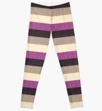 Asexual Flag Leggings