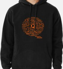 Qanon - Great Awakening - QResearch - Cryptograph Pullover Hoodie