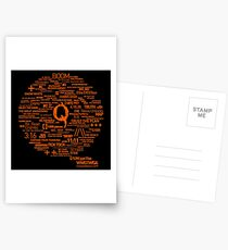 Qanon - Great Awakening - QResearch - Cryptograph Postcards