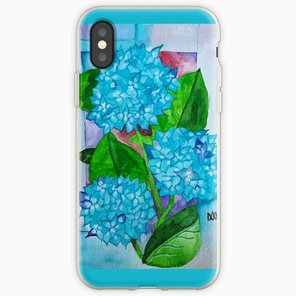 Blumen-Aquarell iPhone Fall iPhone-Hüllen & Cover