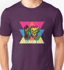 Stonewall Pride 2019 lion Slim Fit T-Shirt