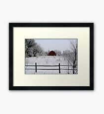 Nature's Brush Framed Print