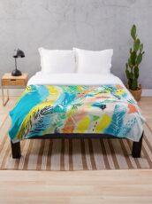Cool Summer Throw Blanket