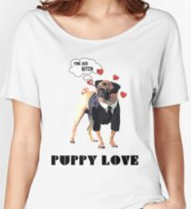 Puppy Love Women's Relaxed Fit T-Shirt