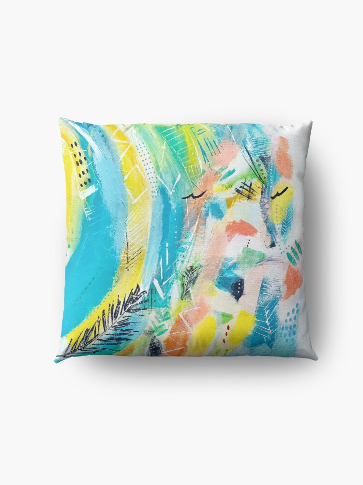 Alternate view of Cool Summer Floor Pillow