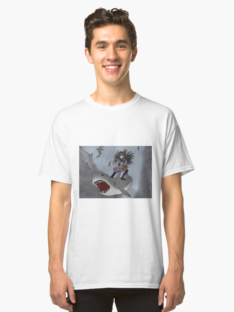 Alternate view of Homura Vs Sharknado Classic T-Shirt
