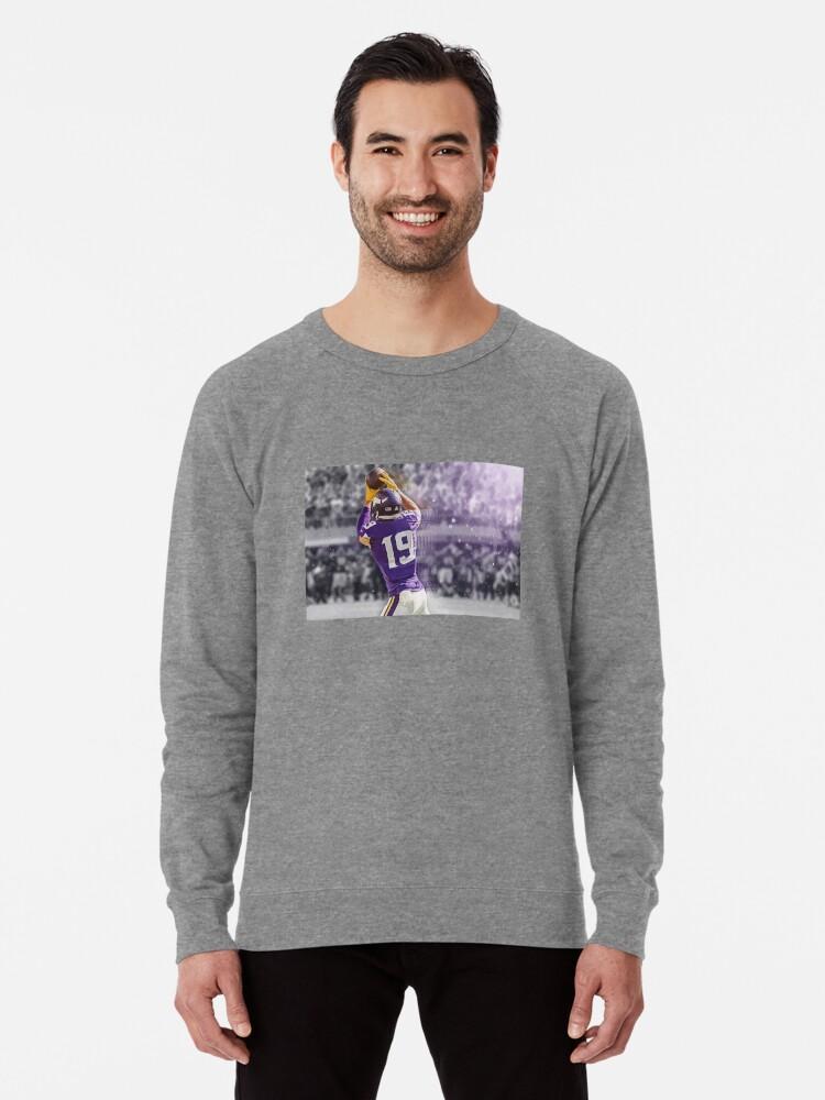 sale retailer 2424e 272a2 'Adam Thielen Minnesota Vikings Illustration ' Lightweight Sweatshirt by A J