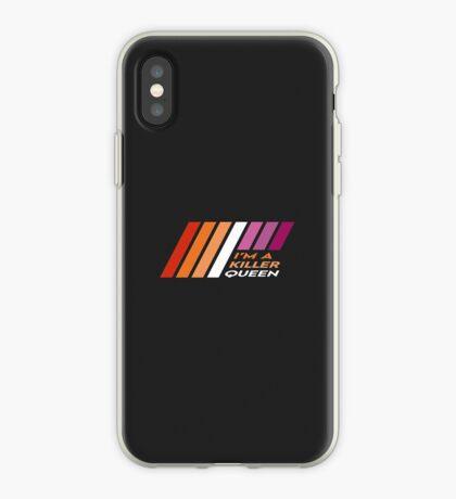 Pride Stripe: I'm a Killer Queen iPhone Case