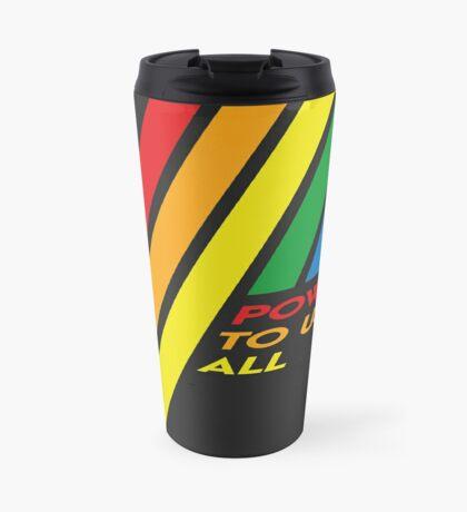 Pride Stripe: Power To Us All Travel Mug
