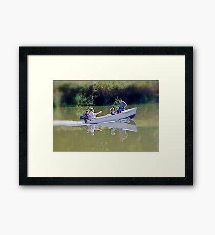 Reflections of My Life Framed Print