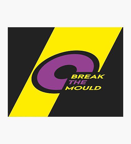 Pride Stripe: Break The Mould Photographic Print