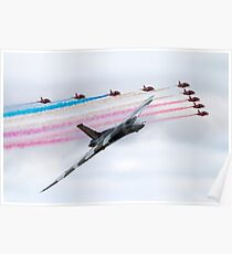 Red Arrows Salute Poster