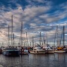 Barche all'ormeggio by Andrea Rapisarda