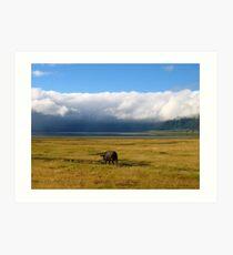 Ngorongoro Crater Art Print