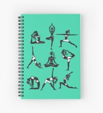 Yogini Spiral Notebook