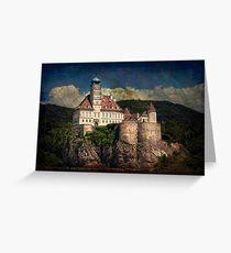 Castle Schoenbuehel Greeting Card