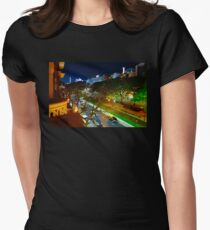 Buenos Aires by Night Women's Fitted T-Shirt