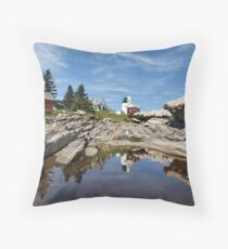 Reflections of Pemaquid Throw Pillow