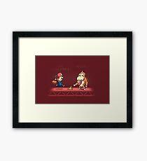 Tricky Kong Framed Print