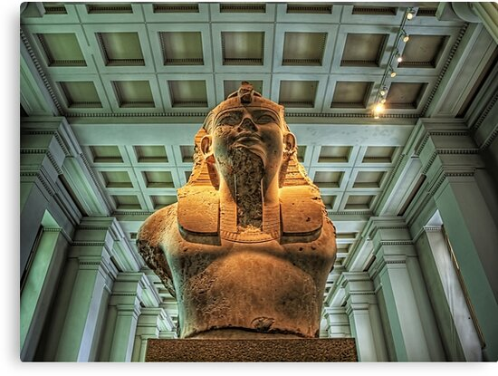 Bust of Amenhotep III - British Museum by NeilAlderney