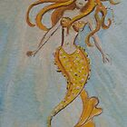 Yellow Mermaid by Wendy Crouch