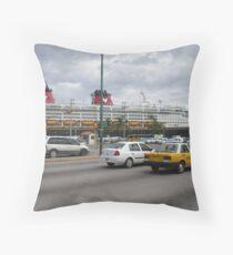 Puerto Vallarta harbour Throw Pillow