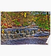 Waterfalls at Kearton (HDR) Poster
