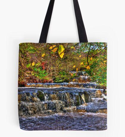 Waterfalls at Kearton (HDR) Tote Bag
