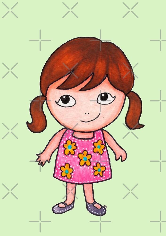 Chibi Girl  by coloringiship