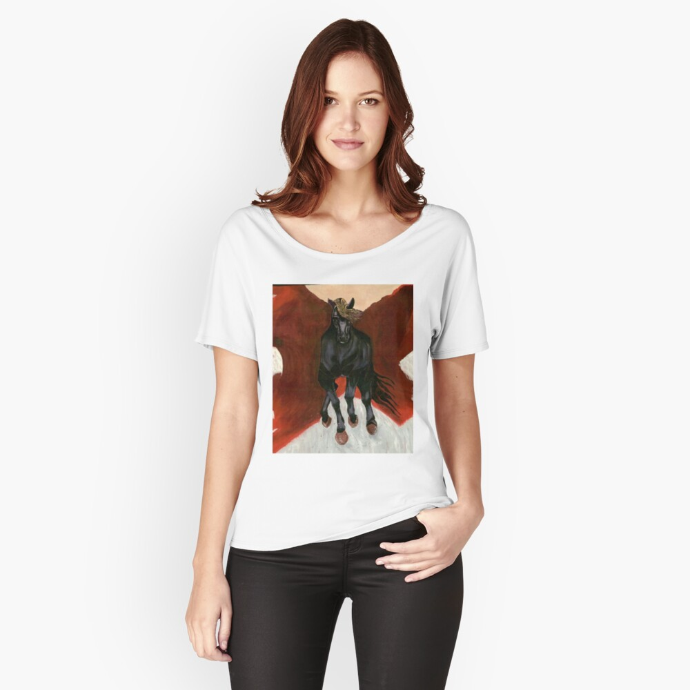 Dark Horse  Relaxed Fit T-Shirt