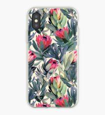 Vinilo o funda para iPhone Patrón de Protea pintado