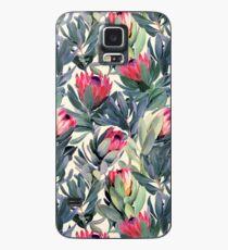 Funda/vinilo para Samsung Galaxy Patrón de Protea pintado