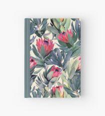 Cuaderno de tapa dura Patrón de Protea pintado