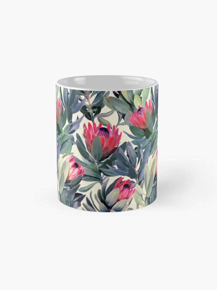 Alternate view of Painted Protea Pattern Mug