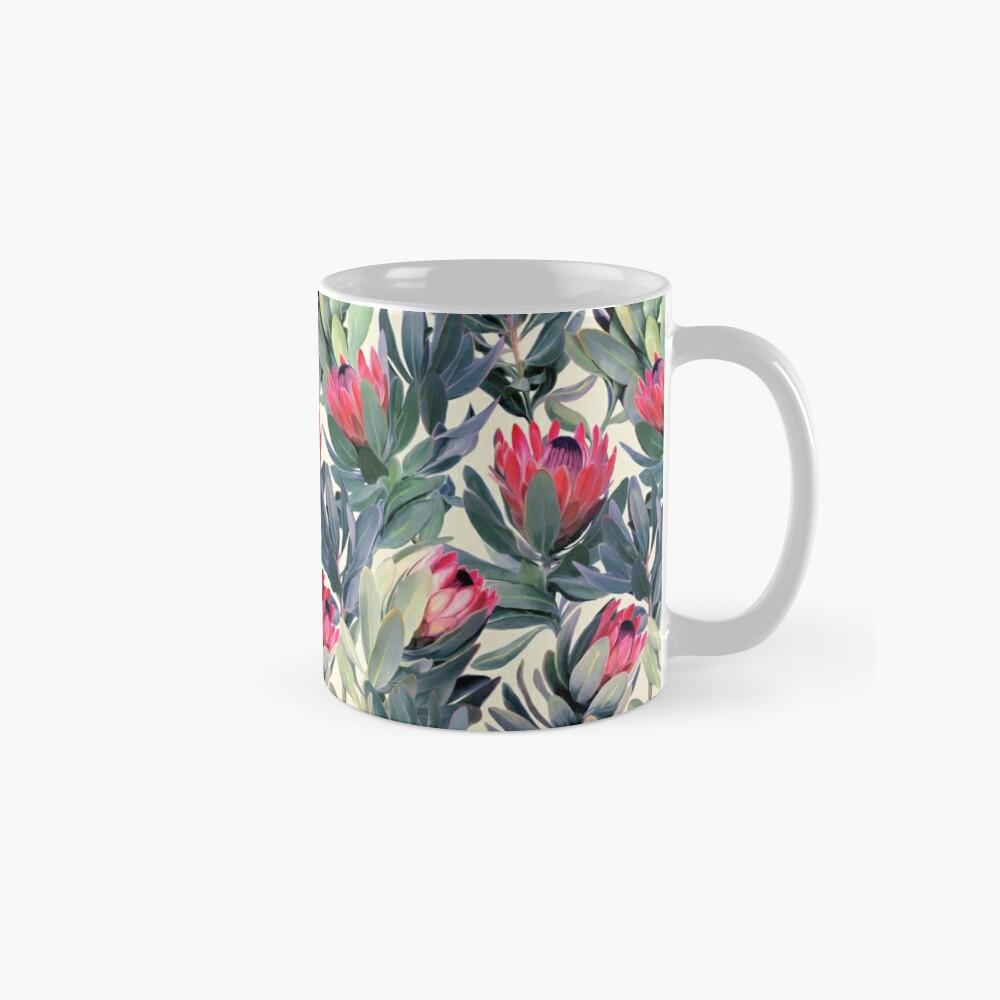 Painted Protea Pattern Mug