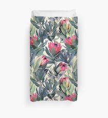 Painted Protea Pattern Duvet Cover