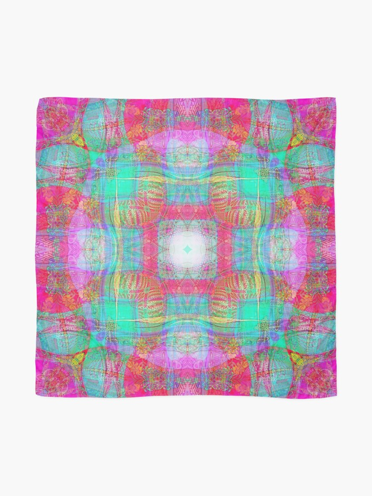 Alternate view of SOFT ASIAN FABRIC FANTASY  Scarf