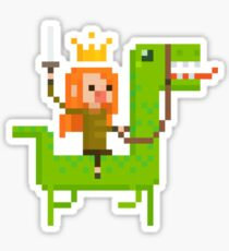 Dino Queen Rider Sticker