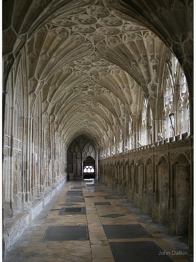 Vaulted ceiling, Gloucester Cathedral by JohnDalkin