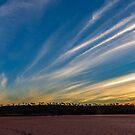 Salt Lake Sunset by robcaddy