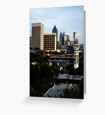 Atlanta - Capital of The South Greeting Card