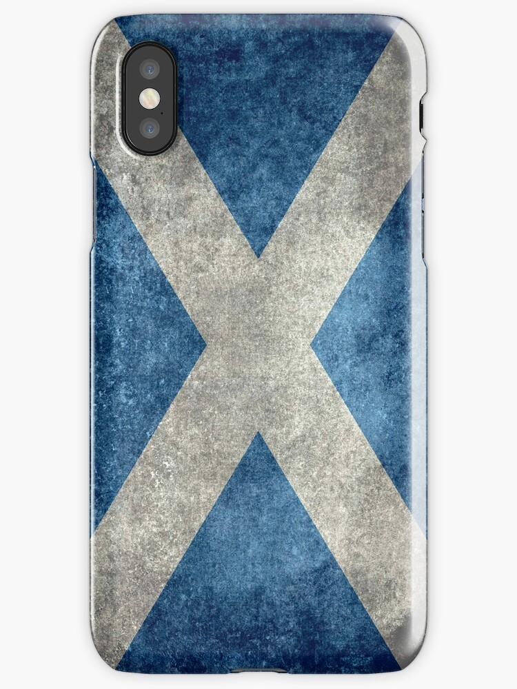 National flag of Scotland - Vintage version by Bruce Stanfield