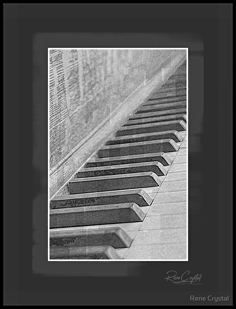 Up The Octave Staircase by Rene Crystal