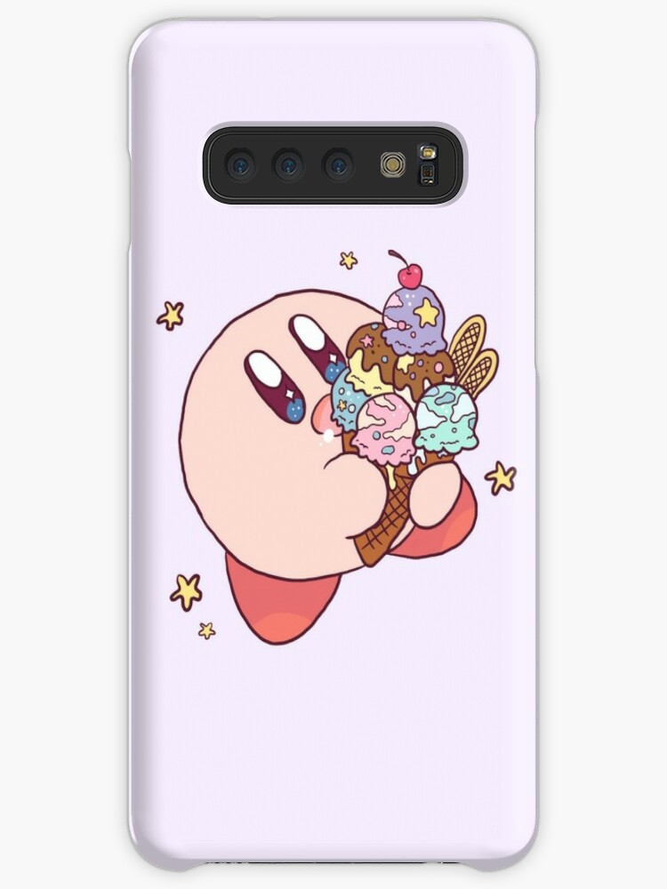 Pink Running Kirby Phone Case Cover