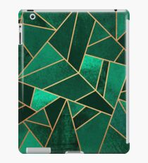 Smaragd und Kupfer iPad-Hülle & Skin