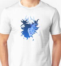Elk in Blue Slim Fit T-Shirt