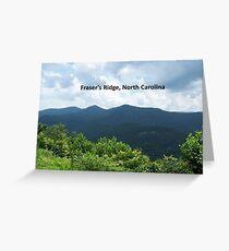 OUTLANDER Fraser's Ridge, North Carolina Greeting Card